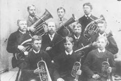 VPKn soittokunta v.1888.